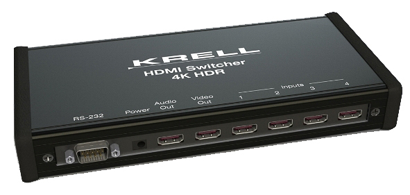 Krell 4K HDMI Switcher