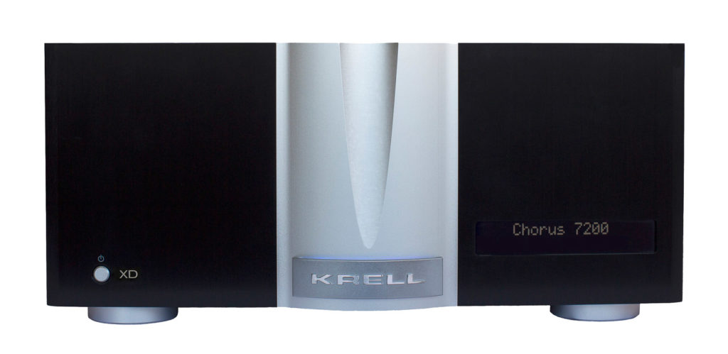 Krell Chorus 7200 XD Multi-Channel Front