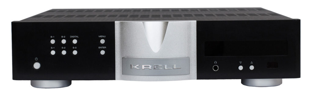 Krell Illusion II Preamplifier Front