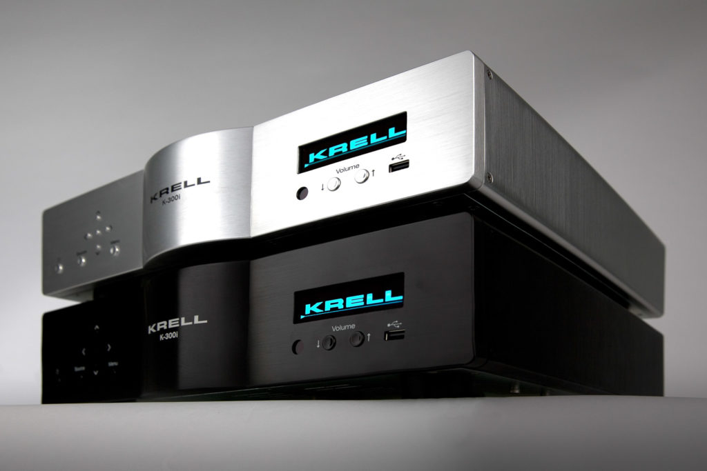 Krell K 300i Integrated Stereo Amplifier Hero-Stack